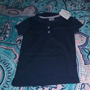 Gymboree Navy Polo Shirt w/ Pocket